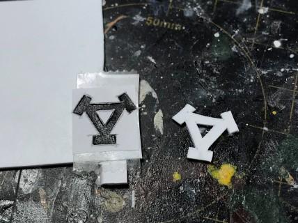 Khador symbol stencil